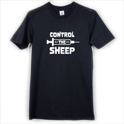 CONTROL THE SHEEP T-SHIRT Conspiracy Theory, Virus Pandemic, Plandemic, Sheeple