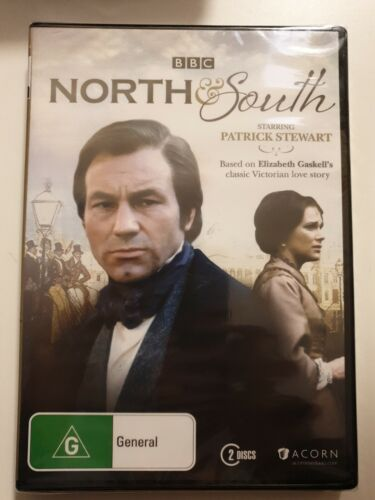 North & South  DVD BBC PATRICK STEWART. BRAND NEW AND SEALED