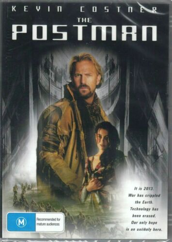 The Postman DVD Kevin Costner New and Sealed Australia