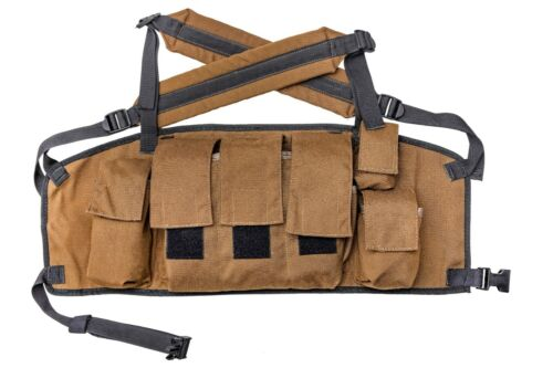 SOUTH AFRICAN DEFENSE FORCE SADF SANDF PAT 83 CHEST RIG UNISSUED RHODESIANOriginal Period Items - 13983
