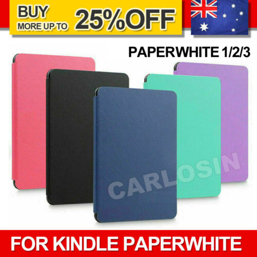 For Amazon KINDLE Paperwhite 1/2/3 Flip Leather Folio Case Cover Slim Magnetic