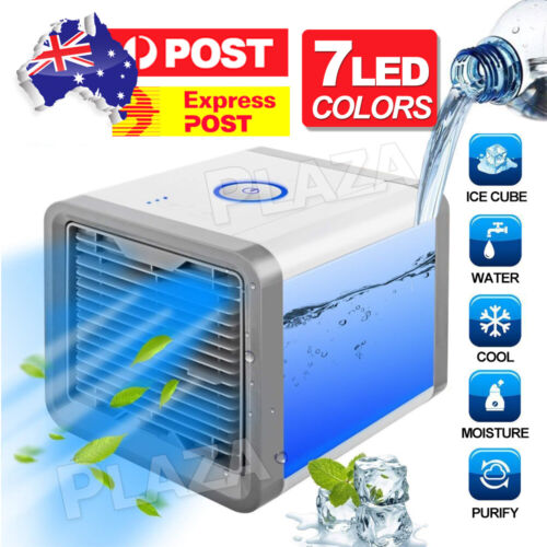 Portable Mini Air Cooler Fan Air Conditioner Cooling Fan Humidifier AC AU STOCK