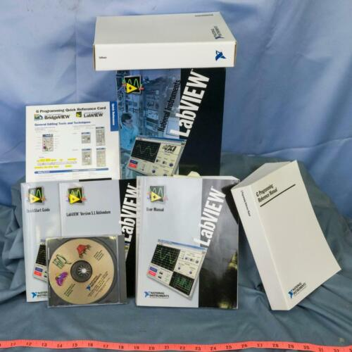 LabVIEW National Instruments HiQ Pro 4.1 Older Windows Software & Manual Set dq