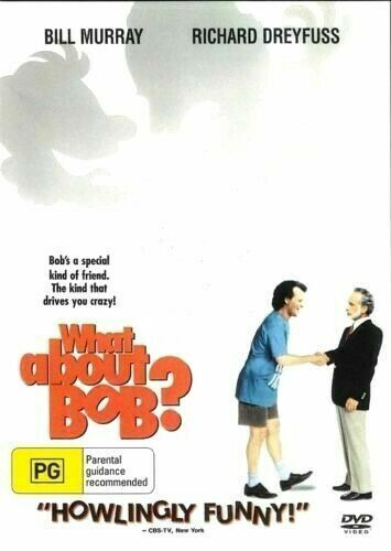 What About Bob? DVD  Bill Murray New and Sealed Australia