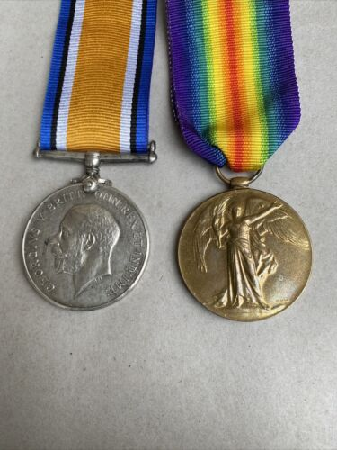 Australian WWI Medal duo LCpl JE Taylor Castlemaine Victoria 38 Bn WIA Messines1914 - 1918 (WWI) - 13962