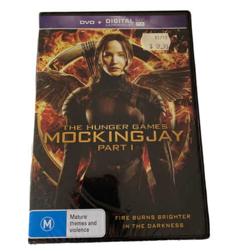 The Hunger Games - Mockingjay : Part 1 (DVD, 2015) Region 4 New & Sealed