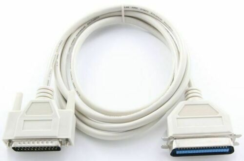 5m Parallel Bi-Directional Printer Cable DB25 C36 Centronics Legacy Device 5 Mtr