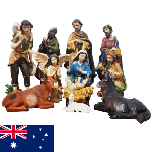 Deluxe Religious Nativity Figure Set For Christmas Decoration 12 Pieces 12''/ 30