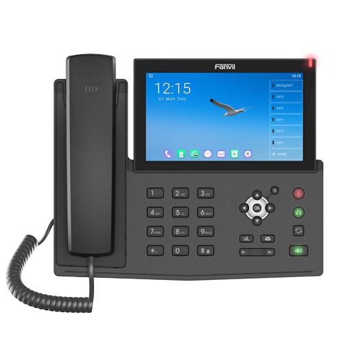 Fanvil X7A Android Touch Screen IP Phone, 112 DSS Keys, 7' Colour Screen, Built