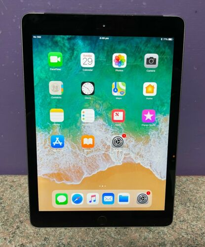 Apple Ipad 6th Gen 4G & Wifi 32GB Unlocked Working