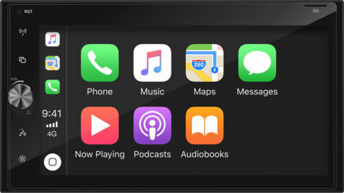 """Axis AX1870CP 6.8"""" Multimedia receiver with Apple Carplay and Android Auto Ready"""