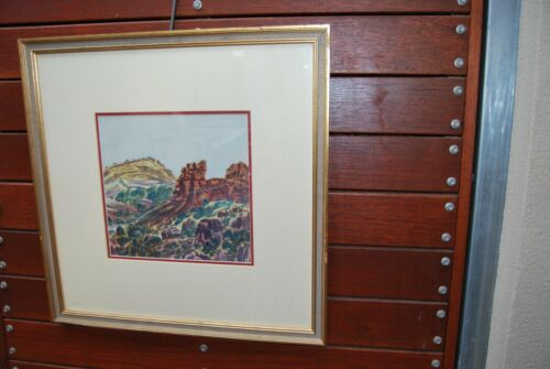 Hermannsburg Aboriginal Watercolour painting by Otto Pareroultja