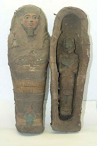 RARE ANCIENT EGYPTIAN ANTIQUE Mummification King Tomb 1985-1852 BC