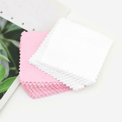 10x Jewelry Polishing Cloth Cleaning For Platinum Silver And Gold Sterling H0q6