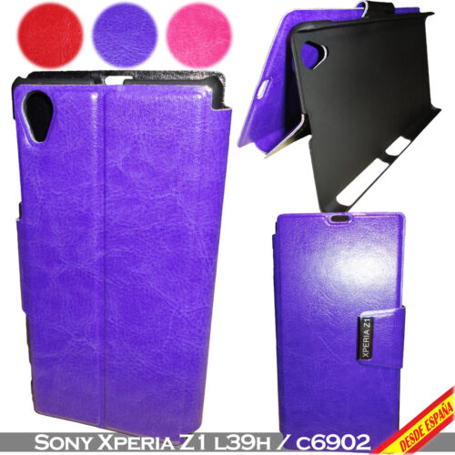 Cover PU Leather For sony Xperia Z1 L39H C6902 Support Horizontal Semi Leather