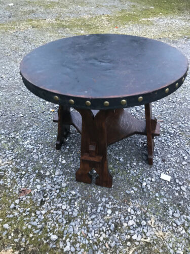 Antique Wolverine Company table Stickley Era - Good shape