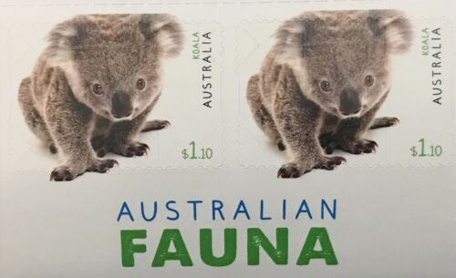 100× $1.1 Self-Adhesive Australian Postage Stamps Face Value $110