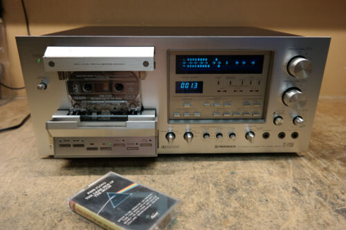 Pioneer Ct-f1250 Cassette Deck Professional Restoration Service Only