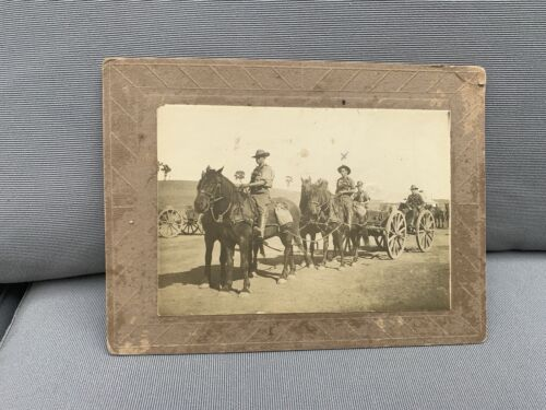 WWI Australian 1st AIF Photograph Light Horse? Named Rare Image d21914 - 1918 (WWI) - 13962
