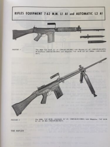Australian SLR 7.62mm L1A1 Rifle - Technical Brochure - Lithgow Small Arms 1975Modern, Current - 36066