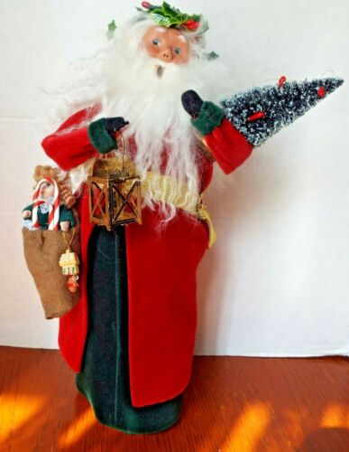 Byers Choice ~ The Carolers ~ Old English Santa with Gifts 2011 ~ Figure 13""