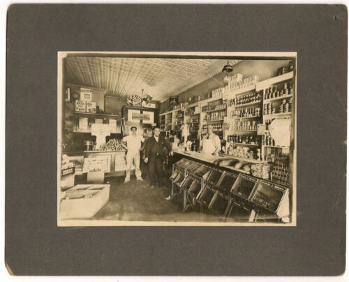 Cabinet photo Grocery Store, Advertising, Occupational, Produce, Baked Goods