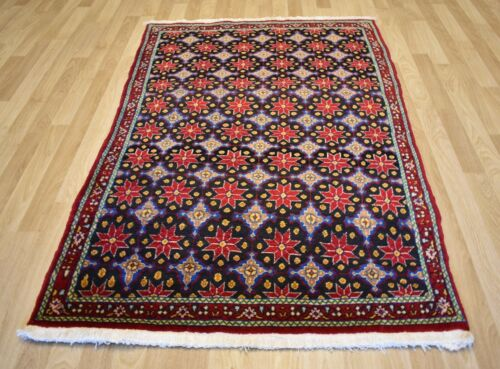 CLEARANCE 1970's Collector's  Antique Caucasian Star Kazak  Rug 5 Ft x 7 Ft