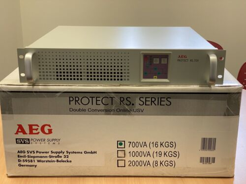 AEG Power Solutions Protect RS.700 Online Double Conversion UPS