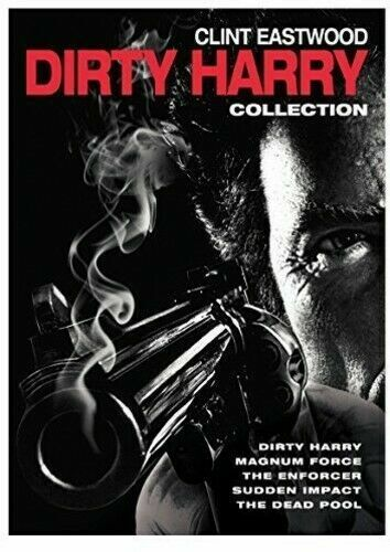 Dirty Harry DVD Clint Eastwood 5 Film Collection New Sealed Australia