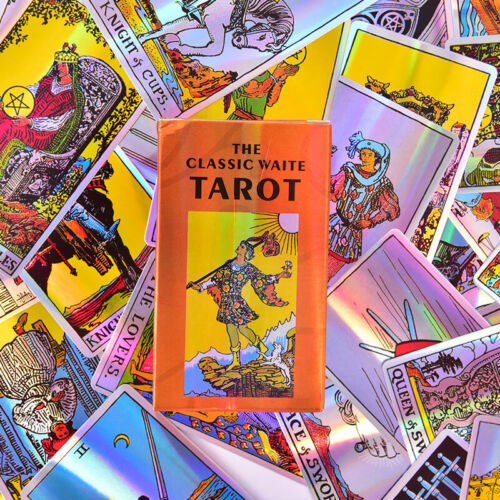 Tarot Of Rider Waite Board Games Divination Table Game Playing Card DecksCR