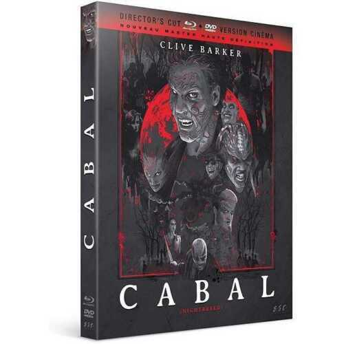 Blu Ray + DVD : Cabal - Clive Barker - NEUF
