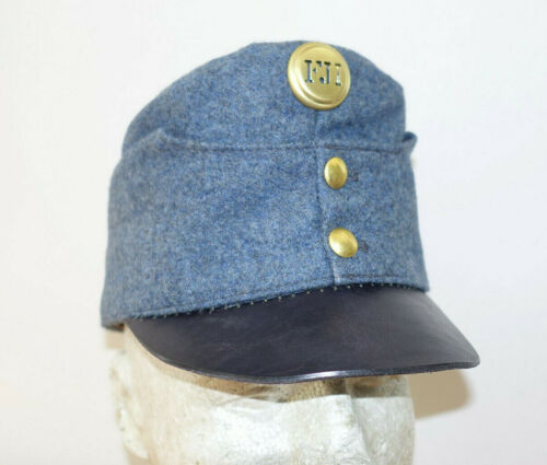 AUSTRIAN AUSTRO HUNGARIAN ARMY WW1 REPRO EARLY BLUEISH CAP HAT Sz59 (7 3/8) 1915Other WWI Reproductions - 156414