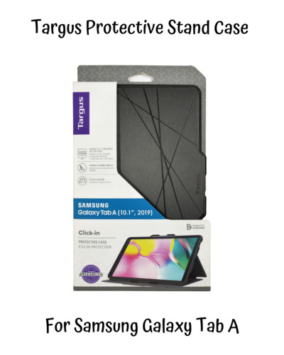 Targus Samsung Galaxy Tab A Click In Case Tablet Folio Hard Cover Stand 10.1 New