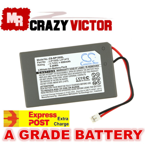 New Battery for Sony PlayStation 3 PS3 Wireless Controller LIP1472 LIP1859