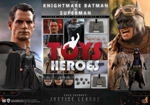 HOT TOYS TMS038 KNIGHTMARE BATMAN AND SUPERMAN ZACK SNYDER'S JUSTICE LEAGUE Coup
