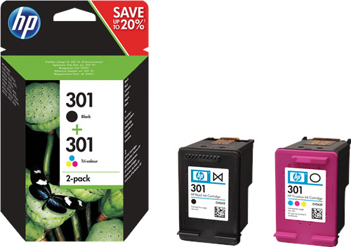 Originale HP Multipack nero / differenti colori N9J72AE 301