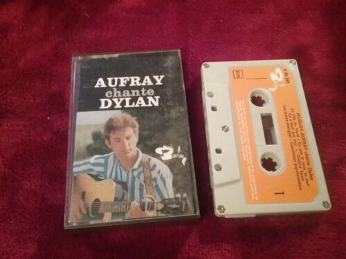 Hugues aufray chante Dylan très rare k7 audio sixties