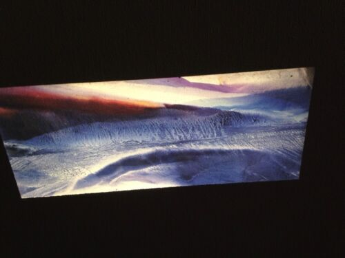 """Paul Jenkins """"Phenomena Dialing Tides"""" 35mm Art Slide Abstract Expressionism"""