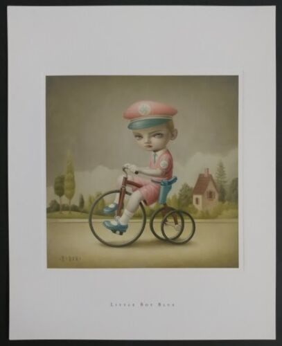 Mark Ryden Limited Edition Lithograph Print Long Sold Out Spread Love No Hate