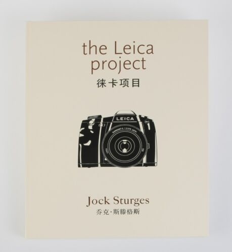 """THE LEICA PROJECT BY JOCK STURGES SPECIAL EDITION """" 3 """" / WITH SIGNED PRINT INCL"""