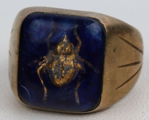 Ring USSR Beetle Made in SOVIET Political concentration camp GULAG Russia SIBERI