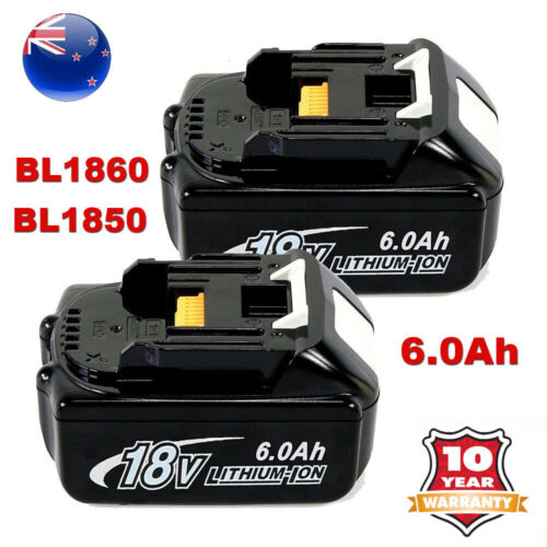 NEW 18V 6.0AH LITHIUM ION BATTERY LXT FOR MAKITA BL1860 BL1830 CORDLESS 2-PACK