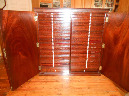 ANTIQUE COIN CABINET [THE ULTIMATE]