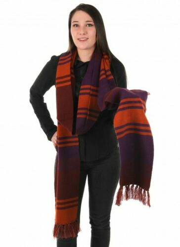 DOCTOR WHO 4th Doctor (Tom Baker) Licensed Season 18 - 12 Foot Long Knit Scarf