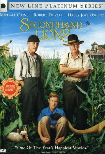 SECONDHAND LIONS (WS) NEW DVD
