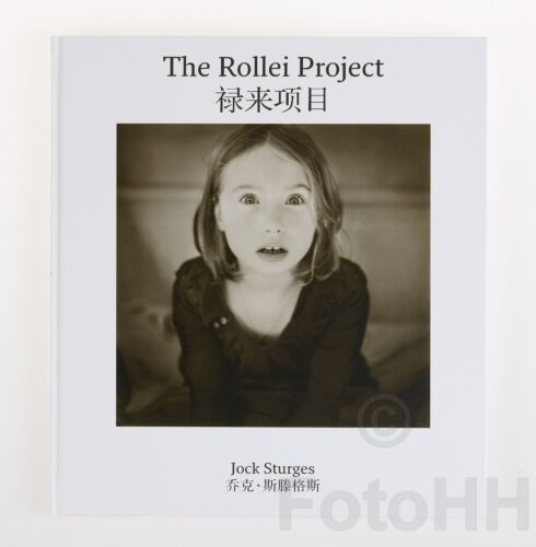"""""""THE ROLLEI PROJECT"""" BY JOCK STURGES / RARE BOOK IN ENGLISH AND CHINESE LANGUAGE"""