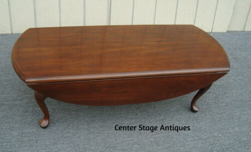 62140  Cherry Dropleaf Coffee Table Stand