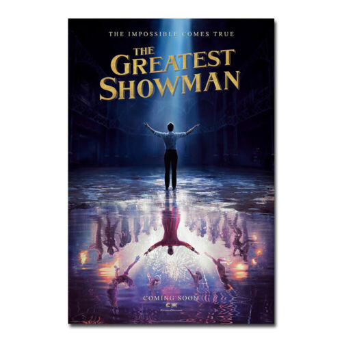 The Greatest Showman Wall Movie Poster Art Film Print Picture Bedroom Decor