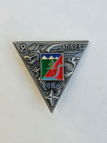FRANCE: FRENCH FOREIGN LEGION BADGE 2° REP IFOR Bosnia, FIA