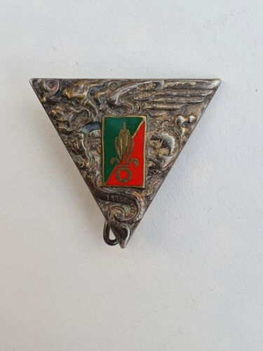 FRANCE: FRENCH FOREIGN LEGION BADGE 2° REP , Drago Paris 1980's